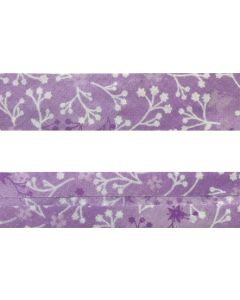 25mm SF Bias Binding - Flutter (Orchid)