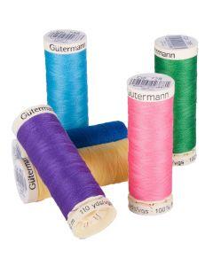 Bulk Buy Gutermann (100mt) Polyester Thread $34.00 per 10 cobs