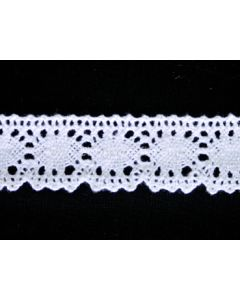 Cluny Lace H0042K (White)