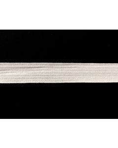 12mm Heavyweight Knitted Elastic - White