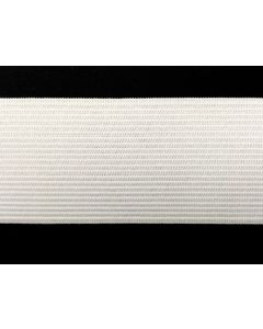 50mm Heavyweight Knitted Elastic - White