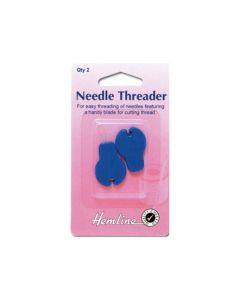 Hemline Needle Threader - With Cutter (C)