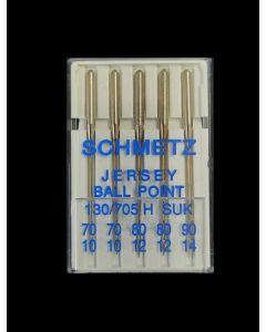 SCHMETZ Jersey Ball Point Needle - Size 70/10 - 90/14