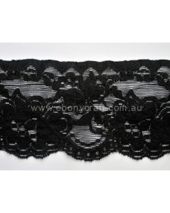 Stretch Lace KTR 29020-05 (Black)