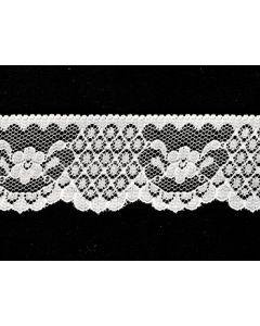 Raschel Lace KTR 3951001 (White)
