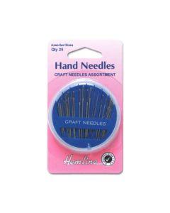 Hemline Hand Needles - 25 Pack (H)