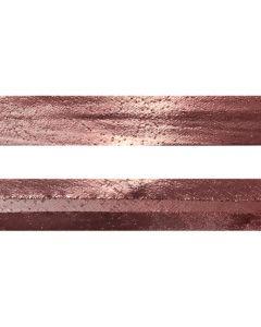 25mm SF Metallic Rose Gold Bias Binding