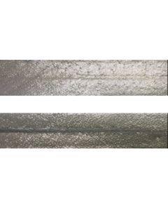 25mm SF Metallic Silver Bias Binding