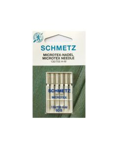 SCHMETZ  Microtex Machine Needles - Size 60