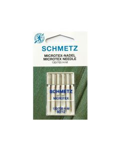 SCHMETZ  Microtex Machine Needles - Size 80