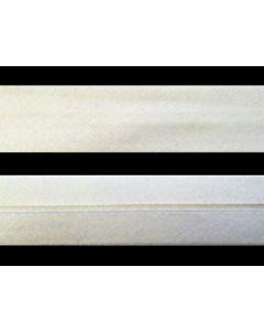 25mm Single Fold Japara Bias Binding - Off White