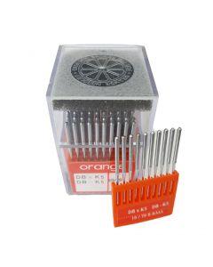Orange Industrial Needles - DB x K5 10/70