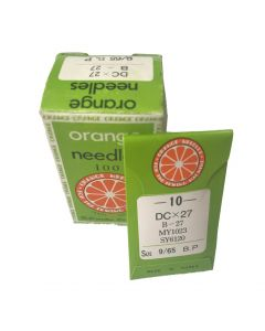 Orange Industrial Needles - DC x 27 -9/65 BP