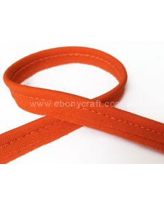 6mm Cotton Piping (Orange)