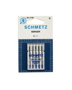 SCHMETZ Overlock / Serger Machine Needles - BLx1 - 75/11 & 90/14