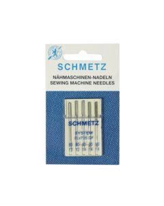 SCHMETZ Overlock / Serger Machine Needles - ELx705 Size 80/12