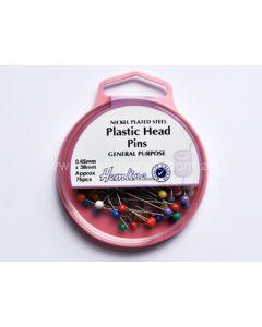 Hemline Plastic Head Pins (I)