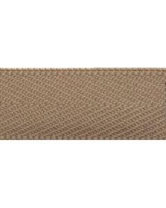 Herringbone Tape (Polyester) - Beige