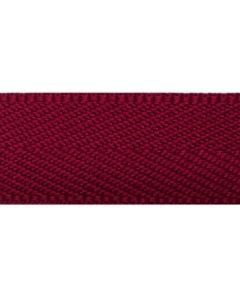 Herringbone Tape (Polyester) - Ruby