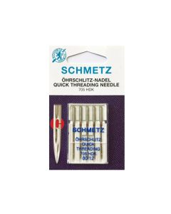 SCHMETZ  Quick Threading Machine Needles - Size 80
