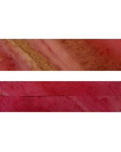 BATIK Rust/Pink Stripes