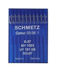 10 Schmetz Industrial Sewing Needles - Overlocker B-27 / MY 1023 / UY 191 GS / DCx27