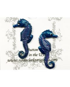 Seahorse Buttons (Set of 2)