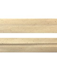 50mm Single Fold Natural Seeded Bias Binding