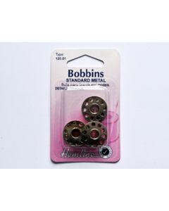 Hemline Bobbins - Standard Metal (B)
