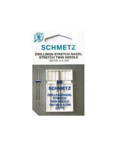 SCHMETZ  Twin Stretch Machine Needle - Size 2.5/75