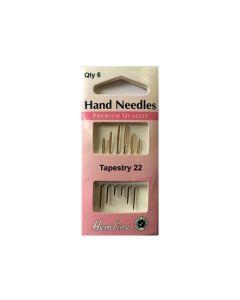 Hemline TAPESTRY Hand Needles Size 22 - GOLD EYE (B)