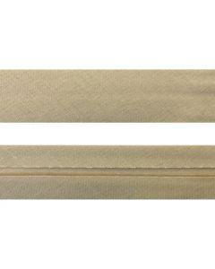 25mm Single Folded Tea Stain Bias Binding