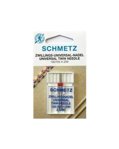 SCHMETZ  Universal Twin Machine Needle - Size 2.5/80