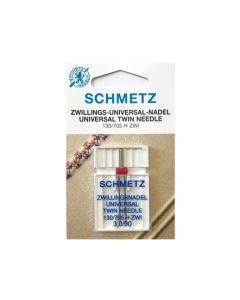 SCHMETZ  Universal Twin Machine Needle - Size 3.0/90