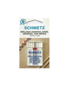 SCHMETZ  Universal Twin Machine Needle - Size 4.0/80