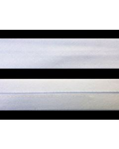 12mm White Bias Binding