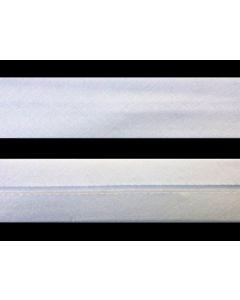 25mm Single Folded  Japara Bias Binding - White