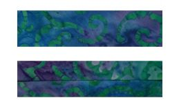BATIK Blue & Purple Swirls