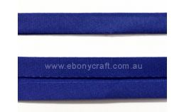 25mm Double Folded Bias Binding - Royal