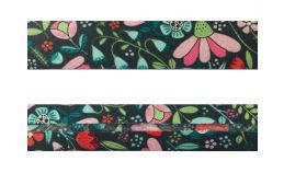 25mm SF Bias Binding - Enchanted Forest (Enchanted Blooms - Slate)