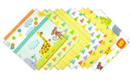Shaggy Quilt Kit - Animal Nursery Flannel
