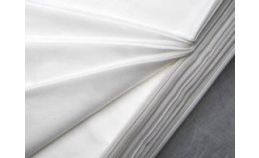 White Bleached Cotton Fabric 5mt