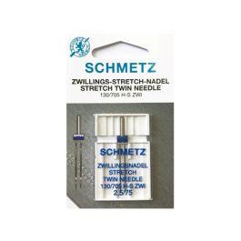 Schmetz Zwillingsnadel 130-705H  ZWI 2 mm Stärke 80//12